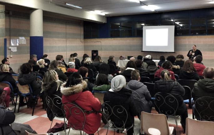 Michela Angeletti Incontro Cyberbullismo Ponte Felcino (Perugia)